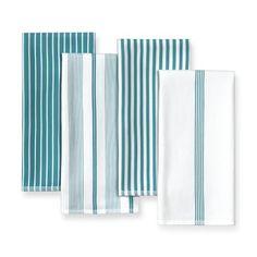 Luxury Williams sonoma Striped Kitchen towel