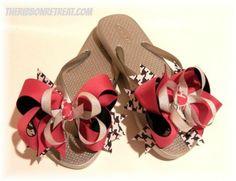 Interchangeable Flip Flops - {The Ribbon Retreat Blog}