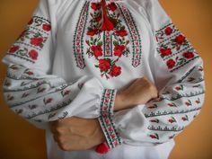 #вишиванка, жіноча вишивана блузка на домотканому полотні (Арт. 01620)