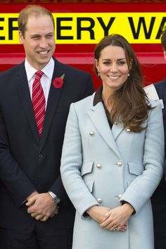 8 Nov 2014 - The Duke and Duchess of Cambridge in Wales