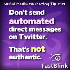 Social Media Marketing Tip #119