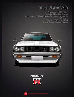Todos los Nissant GT-R