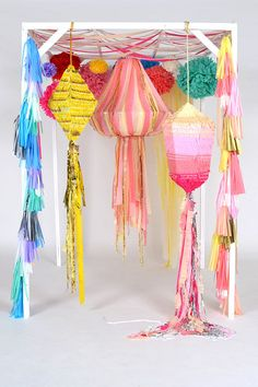 CUSTOM CHANDELIER & PIÑATA
