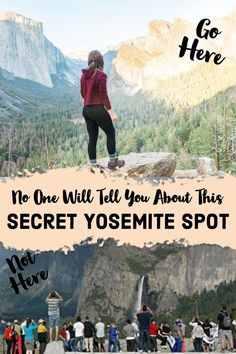 No One Will Tell You About This Secret Yosemite Spot. Ditch the crowds and enjoy the famous Tunnel View at Yosemite. California National Parks, Us National Parks, Yosemite National Park, California Travel, California Honeymoon, The Places Youll Go, Places To See, Merced River, Travel Usa
