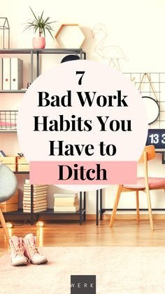 Bad work habits - we've all got them! If you're trying to break some of those bad habits in your career, we've rounded out the top 7 habits you have to ditch ASAP! Career Success, Career Goals, Career Advice, Career Ideas, Career Planning, Career Quotes, Leadership Roles, Leadership Tips, Writing A Cover Letter