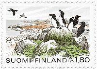 Itäisen Suomenlahden kansallispuisto. Postimerkki 1983