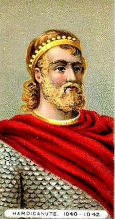 Harthacnut, House of Knýtlinga, b.1018 d.08 June 1042, son of Cnut & Emma of Normandy, King of England 1040-1042. Unmarried.