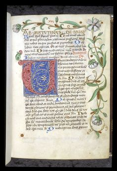Egerton 1146 f. 33 / Book of Hours, Use of Worms, with elements of a Breviary, Germany, c. 1475 - c. 1485