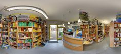 Buchladen Schmalkalden - virtueller Rundgang.