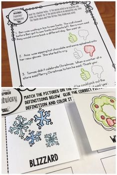 My no prep December printable speech and language activities will help save your sanity during this busy time of year. #slp #speechtherapyideas