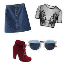 """""""Unbenannt #17"""" by jomrx on Polyvore featuring Mode, Topshop und Christian Dior"""