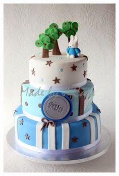 Stijn - Miffy cake, Nijntje