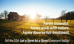 Take action by December 15 for small farms across the country!