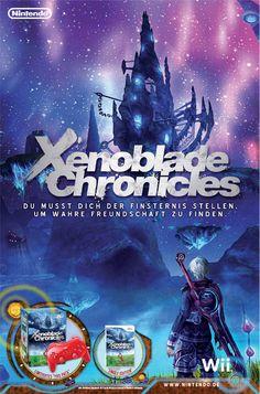 Anzeige Xenoblade Chronicles in Anime-Magazin