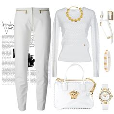 Versace style by katasecret on Polyvore featuring polyvore fashion style Versace Versus
