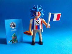 Playmobil Figures Serie  10  Fan fútbol Hincha Fussballfan Soccer Fan  Hot Dog 6840