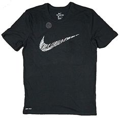 new product 74298 1d485 Men s Athletic Graphic T-Shirt Swoosh Black White AO4448 010    Very nice of