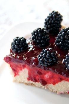 Vegan Blackberry Cheese Cake