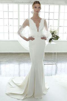 712af4a2 Marchesa Bridal Spring 2018 Chic Wedding Dresses, Bridal Dresses 2018,  Wedding Attire, Bridal