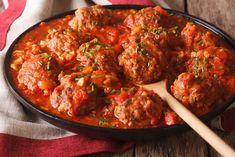 Crock-Pot - Recipes Most Amazing Meatballs Crock Pot Recipes, Slow Cooker Recipes, Florentines Recipe, Frijoles Refritos, Spicy Tomato Sauce, Italian Meatballs, Mexican Meatballs, Meatball Recipes, Meatball Subs