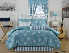 Delectablyyours Captiva Coastal Beach Bedding Comforter For Brilliant Property Coral And Turquoise Bedding Sets Prepare Designer Comforter Sets, Twin Xl Bedding Sets, Beach Bedding Sets, Daybed Sets, Daybed Bedding, Queen Comforter Sets, King Comforter, Tropical Bedding, Coastal Bedding