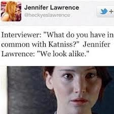 Funny pictures about Jennifer Lawrence trolling an interviewer. Oh, and cool pics about Jennifer Lawrence trolling an interviewer. Also, Jennifer Lawrence trolling an interviewer. The Hunger Games, Katniss Everdeen, Catching Fire, Big Sean, Juegos Del Ambre, Jhon Green, Tribute Von Panem, Funny Quotes, Funny Memes