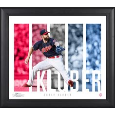 4b1b01957 Corey Kluber Cleveland Indians Fanatics Authentic Framed 15   x 17   Player  Panel Collage