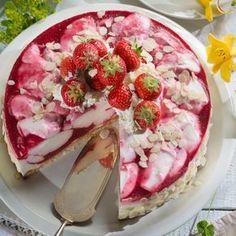 Erdbeer-Joghurt-Wirbeltorte