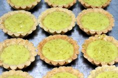 ina garten's key lime tart(lets). By SK. Filling 4 limes at room temperature 1 1/2 cups sugar 1/4 pound (1 stick) unsalted butter at room temperature 4 extra-large eggs at room temperature 1/8 teaspoon salt