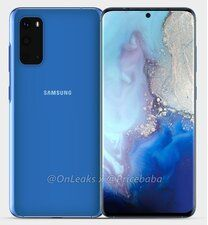 The first image leaks reveal the expected design of the phone GALAXY S11E