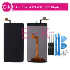 For Alcatel One Touch Idol 3 6045 OT6045 6045Y LCD Display+Touch Screen Digitizer Assembly Replacement+tools  — 1596.05 руб. —