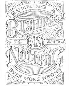 For all the freelancers business owners and self employed. Type by @vichcraft - #typegang - free fonts at http://typegang.com | http://typegang.com #typegang #typography