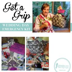 If you are attending or are part of a wedding party, we have the perfect gift for your special bride: A Wedding Day Emergency Kit! Check out our blog today, for how to pack the perfect Wedding Day Emergency Kit, to help put the bride and bridal party at ease on the Big Day!