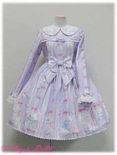 Whimsical Vanilla-chan OP Lavender or Black, 2010