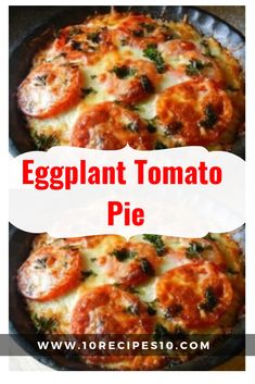This Eggplant Tomato Pie recipe is not an exact science, so don't be afraid to… - eggplant recipes Fresh Tomato Recipes, Onion Recipes, Pie Recipes, Vegetable Recipes, Vegetarian Recipes, Cooking Recipes, Healthy Recipes, Recipies, Eggplant Tomato Pie Recipe