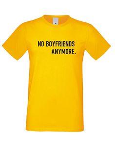 T-shirt No Boyfriends Womens Tshirt f62d4cbb67f9