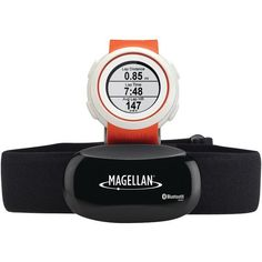 MAGELLAN TW0102SGHNA Echo(TM) Fitness Watch with Heart Rate Monitor (Orange)
