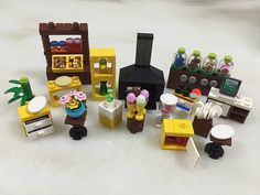 Lego Biscuits Shop | Without these furniture and equipment, … | Flickr