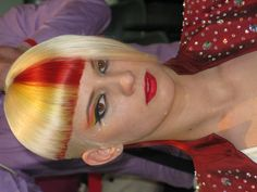 Competition hair colour at OMC european championships 2012 in vienna