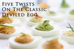 Five Twists on the Classic Deviled Egg | Menus Kitchen PLAY
