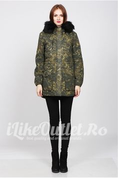 Kaki jacket london canvas - ONLY