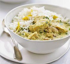 Rice Recipe: Coconut chicken with lemon rice recipe