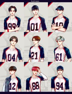 Team EXO, i love how i can tell who exactly is who, they features stand and drawn out so perfectly, especially chanyeol and sehun Exo Anime, Anime Guys, Chanyeol, Exo Kai, Kyungsoo, Lay Exo, K Pop, Exo Cartoon, Exo Stickers