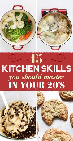15 Kitchen Skills To Master By The Time You're 30