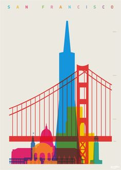 Shapes of Global Cities Defined by Colorful Silhouettes London-based designer and art director Yoni Alter.