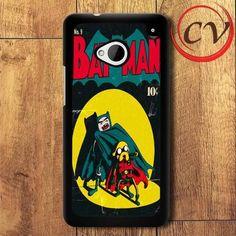 Adventure Time Batman HTC One M7 Black Case