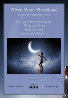 Silver Moon Sisterhood Mantras for Spectacular Women.