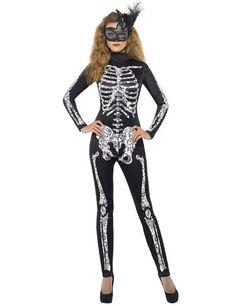 Fever Soleil Skelett Damenkostüm in Kleidung & Accessoires, Kostüme & Verkleidungen, Kostüme | eBay