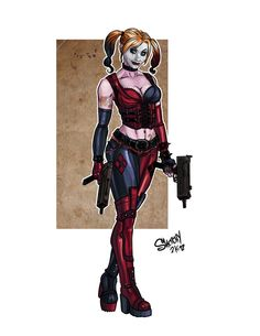 deviantART: More Like Harley Quinn: Defiled by ~BLOOD-and-LUST-87
