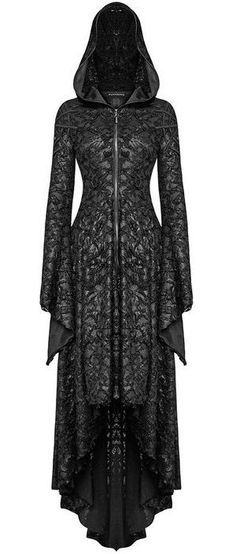 hooded *witch* gown <3